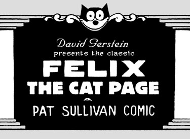 David Gerstein's Classic Felix the Cat Page